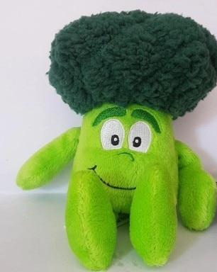 Небольшие мягкие плюшевые игрушки овощей черники баклажаны горох для маленьких детей Рождественский подарок игрушка