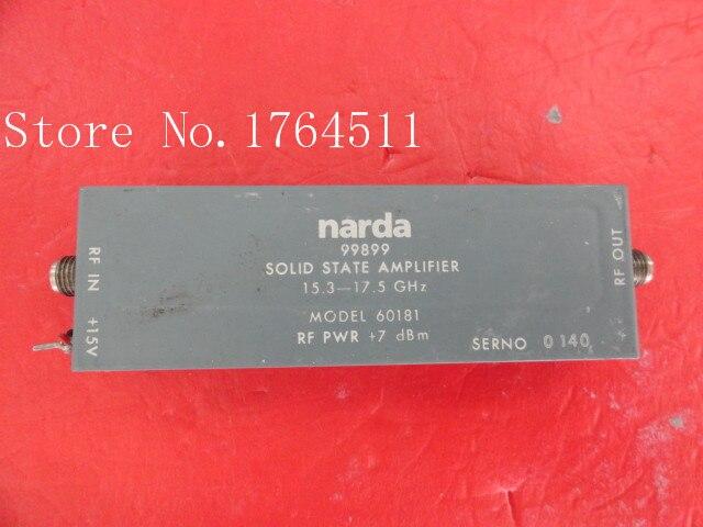 [BELLA] NARDA 99899 15.3-17.5GHz Amplifier 15V SMA