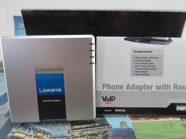 New незаблокированные SPA2102 VoIP маршрутизатор ATA SPA-2102