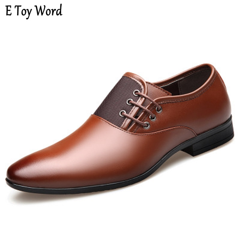 Detail Feedback Questions about 2018 New Men s Dress Shoes men casual shoes  Size 38 47 Black Classic Point Toe Oxfords For Men Fashion Mens Business  Party ... 791f1baa67ee