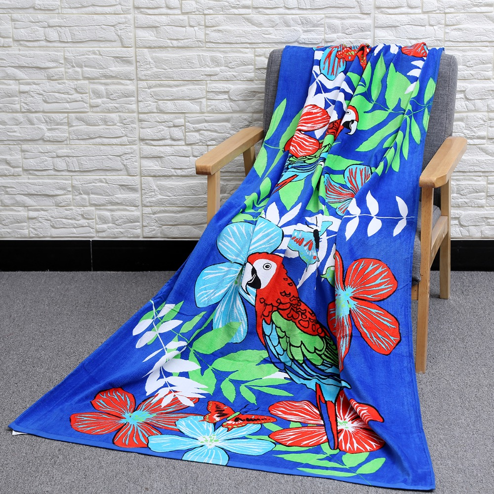 NEW Toalha Plus Size New Summer Large Cotton Thick Floral