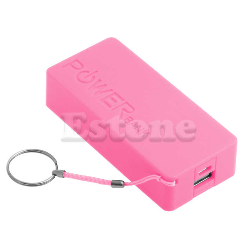 5600mAh 5V USB Power Bank 18650 เครื่องชาร์จแบตเตอรี่ DIY สำหรับโทรศัพท์มือถือ Drop Shipping สนับสนุน