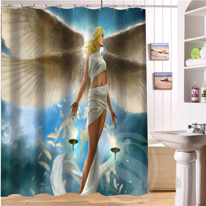 Buy angel shower curtain and get free shipping on AliExpress.com