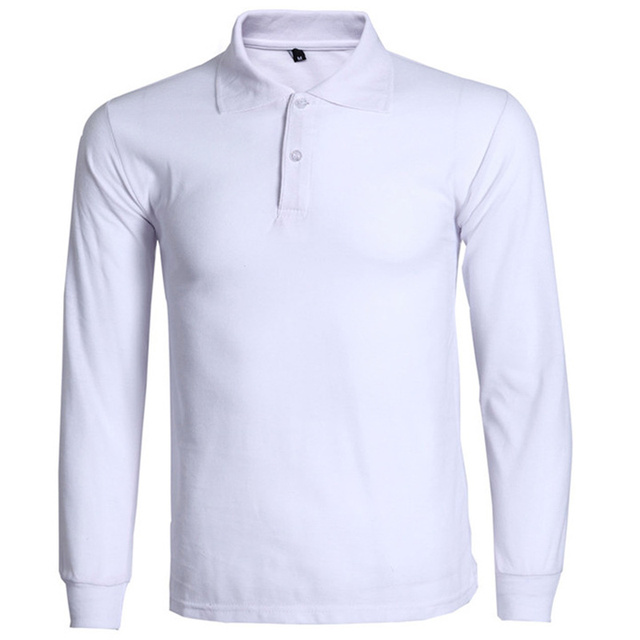 a19d500c351 New Polo Shirt Men Polo Homme 2016 Mens Fashion Long Sleeve Polo Shirts  Casual Brand Solid Color Breathable Polos Plus Size 3Xl