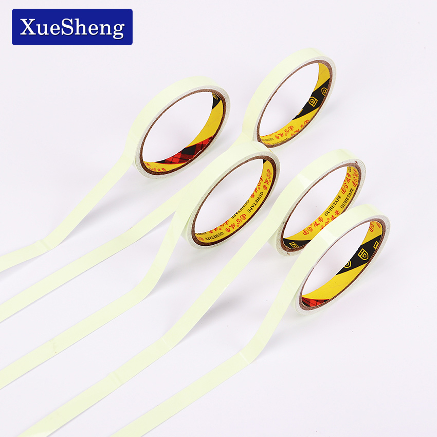 2PCS 6M DIY Luminous Tape Self Adhesive Decorations Glow Tape Creative Luminous Office Adhesive