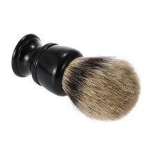 Badger Hair Shaving Razor Brush Men Shaving Brush Barber Salon Facial Beard Brush Cleaning Appliance Tool 1pc shaving brush pure badger hair shaving brush shave tool shaving razor brush