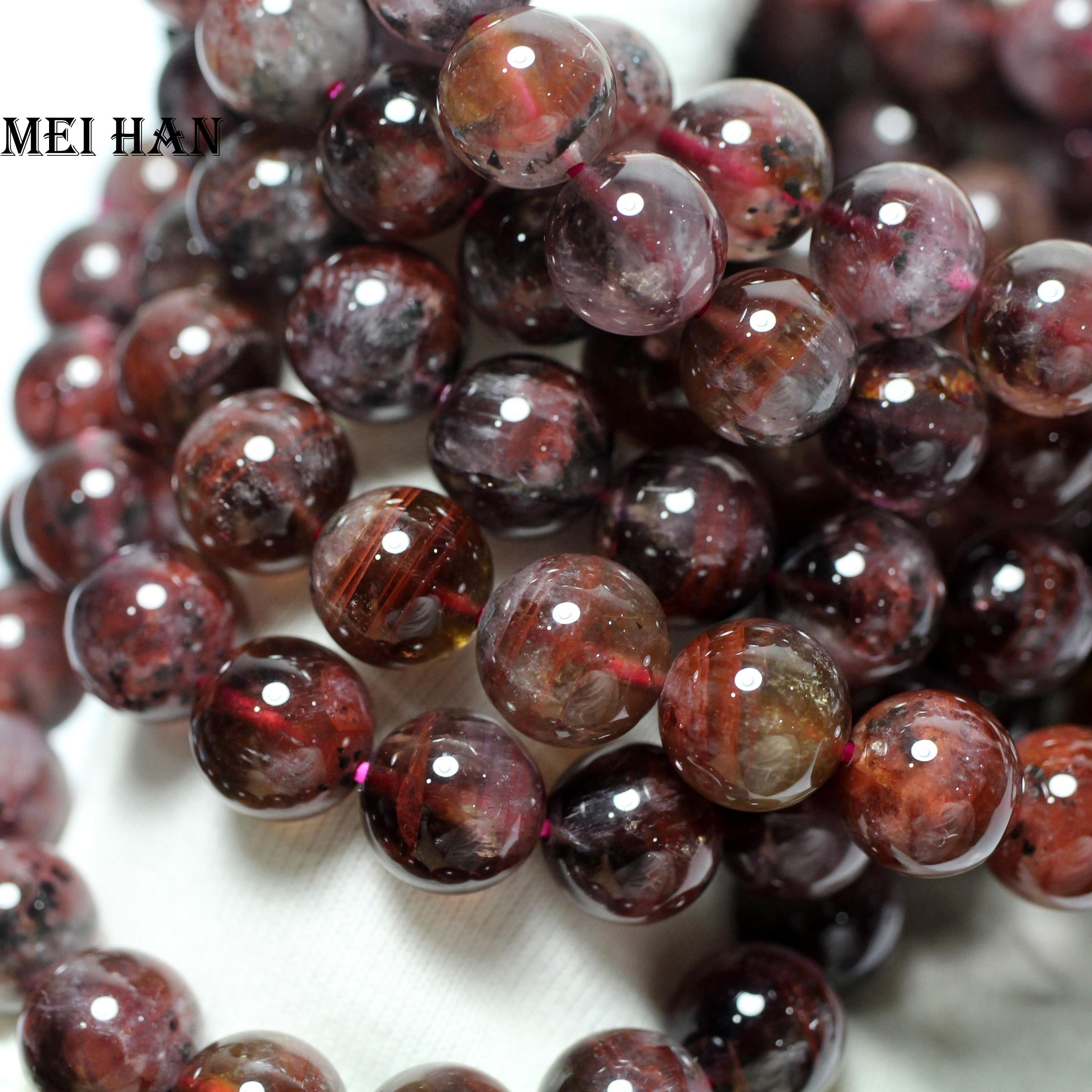 Wholesale 34g 18pcs set Natural A 11 11 5mm genuine rare Auralite 23 quartz smooth round