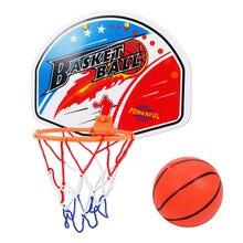Balight Hanging Basketball Hoop Canasta de Interior Bola para Puerta Mini Junta de Baloncesto Canasta Familiar Juego de ni/ños Juego de Juguete de Baloncesto 1 Set
