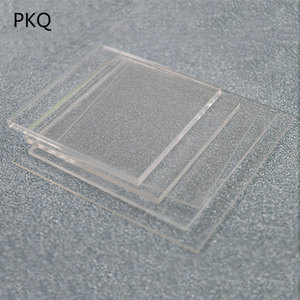 10pcs 1mm Thickness Transparent Acrylic Board Shutter Hardware Plate Clay Acrylic For Plexiglass Perspex Sheet Tools 4 Sizes New