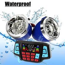 VODOOL мотоциклетный руль Bluetooth MP3 плеер динамик s моторный велосипед аудио звуковая система USB TF FM Радио стерео музыкальный динамик горячая распродажа