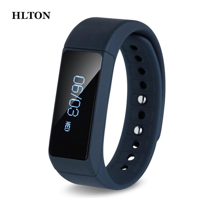 HLTON font b Smart b font Bracelet Touch Screen Fitness Activity Tracker font b Smart b