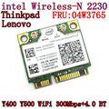 Intel Centrino беспроводная связь - N 2230 беспроводная связь Bluetooth 4.0 Wifi N2230 300 м мини pcie карта 04w3765 для Y400 Y500 Intel 2230