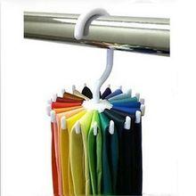 Adjustable 20 Hook Rotating Belt Rack Scarf Organizer Men Tie Hanger Holds #1571