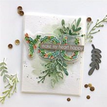 Botanical You Word Letter Metal Cutting Dies for Scrapbooking 2019 New Craft DIY Album Card Making Decor Paper