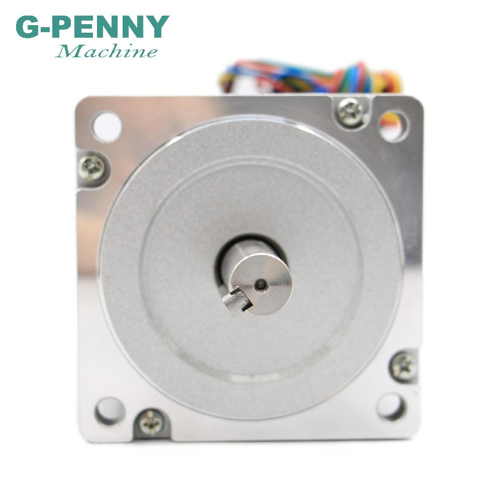 Image 5 - NEMA 34 CNC stepper motor 86X155mm 13 N.m 6A shaft 14mm nema 34 stepping motor 1700Oz in for CNC engraving machine 3D printer-in Stepper Motor from Home Improvement