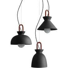Industrial Wind Restaurant pendant lights American retro living room lamp decor coffee Dining room single-headed light fixtures