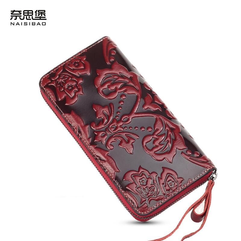 ФОТО Famous brand top quality dermis women bag   Large Zip Wallet Large-capacity multi-card bit wallet China Merry Su Clutch