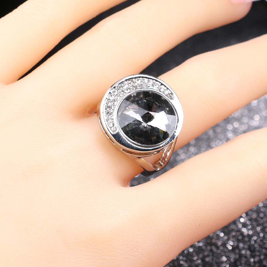 jewelry vintage for rubi unusual american wedding in austrian silver women and rock exaggeration from color ring gray wholesale luxury engagement european item bands rings punk crystal