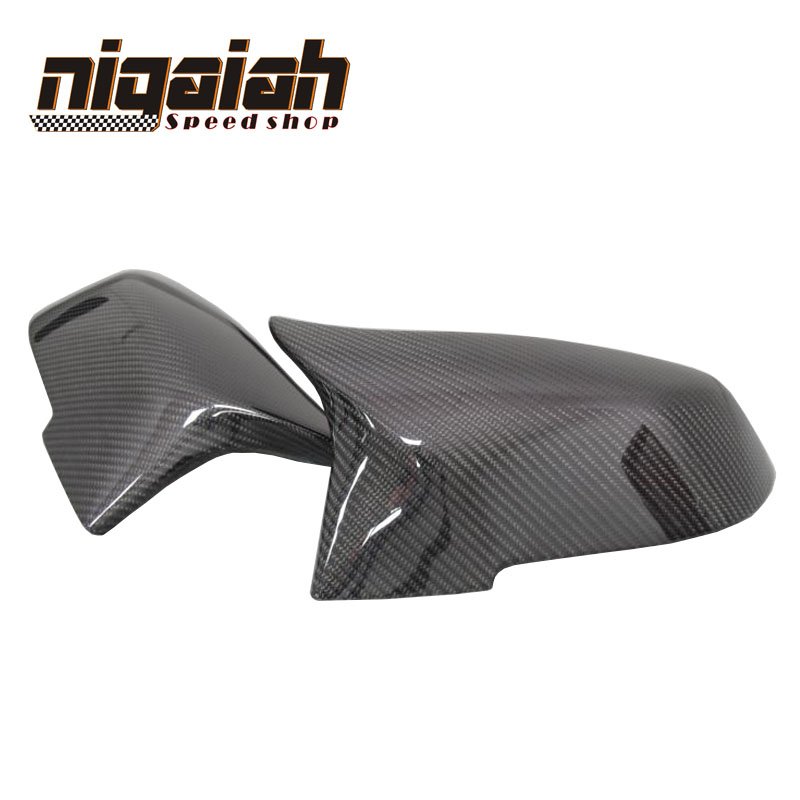 1: 1 Replacement car styling carbon fiber ABS rear side mirror cover for BMW BMW F20 F21 F22 F23 F30 F31 F32  M3 M4 look1: 1 Replacement car styling carbon fiber ABS rear side mirror cover for BMW BMW F20 F21 F22 F23 F30 F31 F32  M3 M4 look