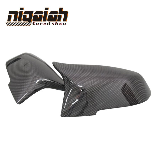 1: 1 Replacement car styling carbon fiber ABS rear side mirror cover for BMW BMW F20 F21 F22 F23 F30 F31 F32  M3 M4 look