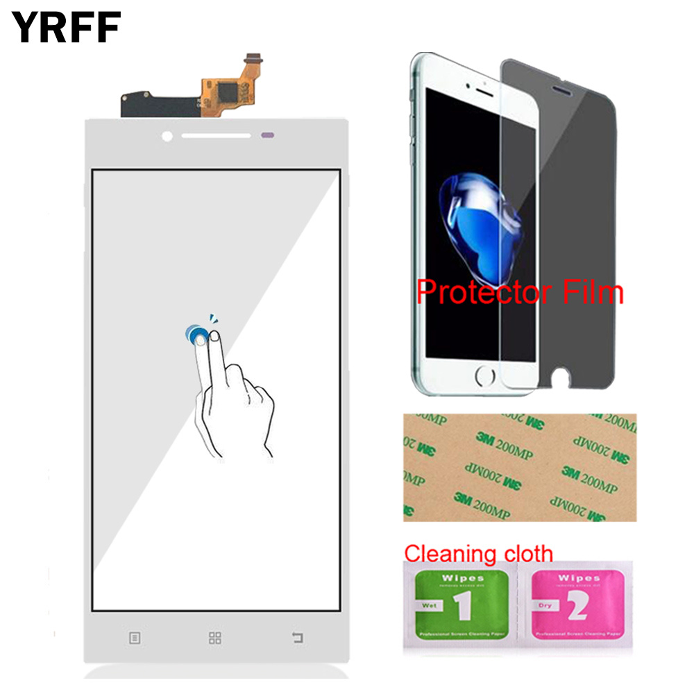 Image 4 - YRFF 5.0 For Lenovo P70 P 70 Touch Digitizer Screen Front Glass Phone Part Smartphone Panel Repair Tools Protector Film Adhesive-in Mobile Phone Touch Panel from Cellphones & Telecommunications