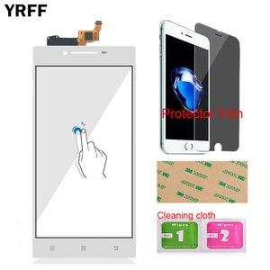 Image 4 - YRFF 5.0 Lenovo P70 P 70 dokunmatik sayısallaştırıcı ekran ön cam telefon bölümü akıllı telefon paneli tamir araçları koruyucu Film yapıştırıcı
