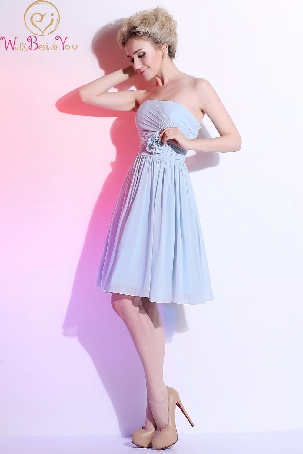 Asombroso Azul Vestido Largo Luz Fotos - Colección de Vestidos de ...