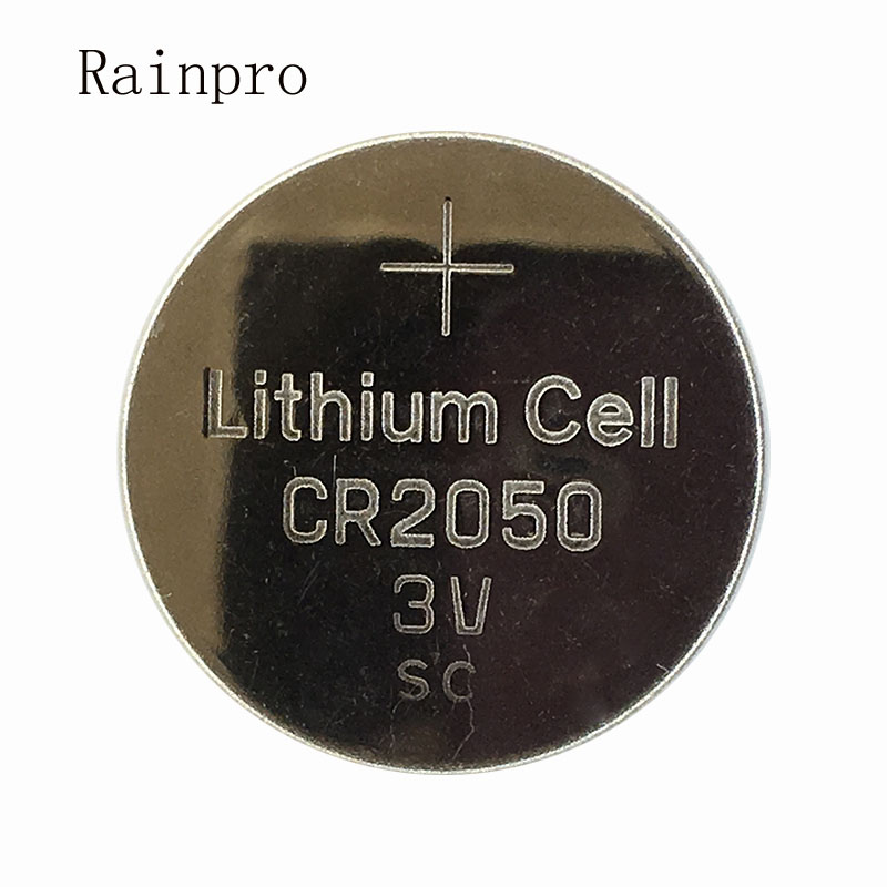 Rainpro 5PCS/LOT CR2050 2050 Coin Cell 3V Lithium Battery Is Suitable For Remote Control / Electronic Wa