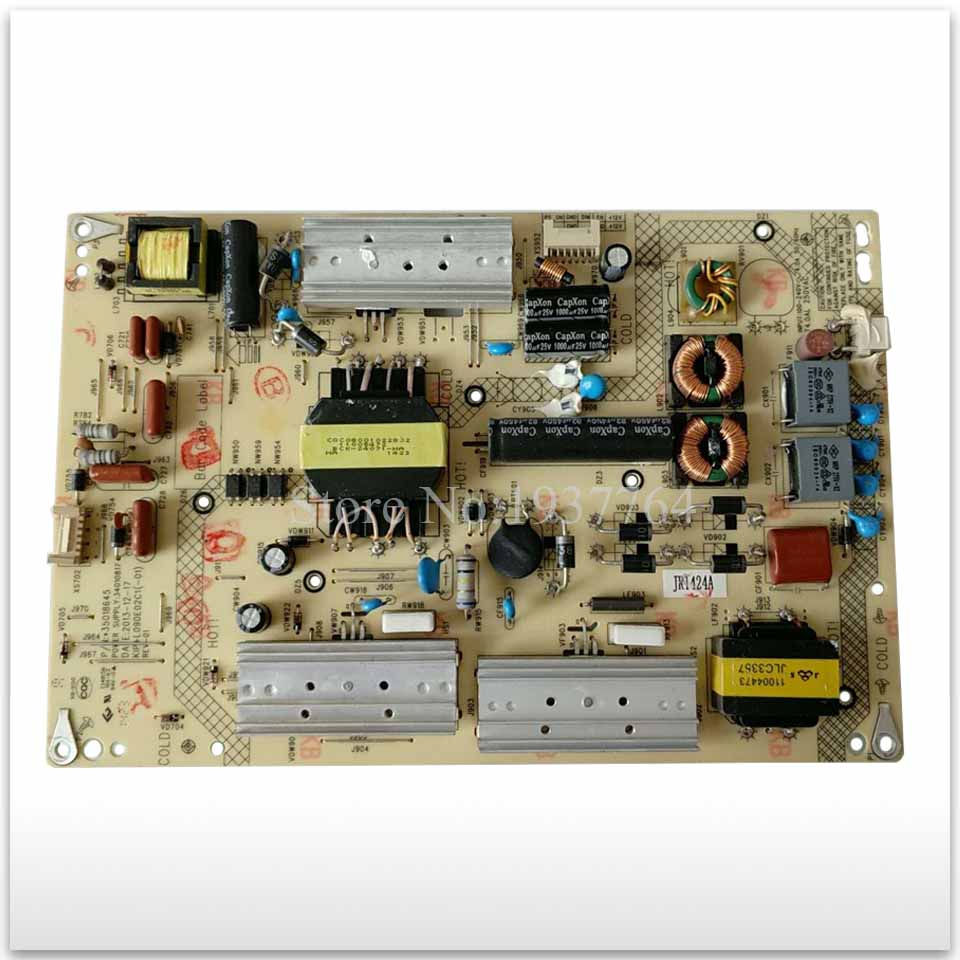 good working for Power Supply Board LED42R6670U 34010817 35018645 KIP+L090E02C1 board used konka power board 34007006 kip l220i12c2 01z 35014711