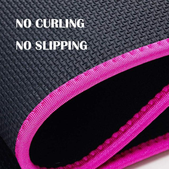 Sport Sweat Belt with Phone Pocket Tummy Stomach Lumbar Sweat Wrap Waist Trimmer Trainer Girdle Slimming Body Shaper Belt 2