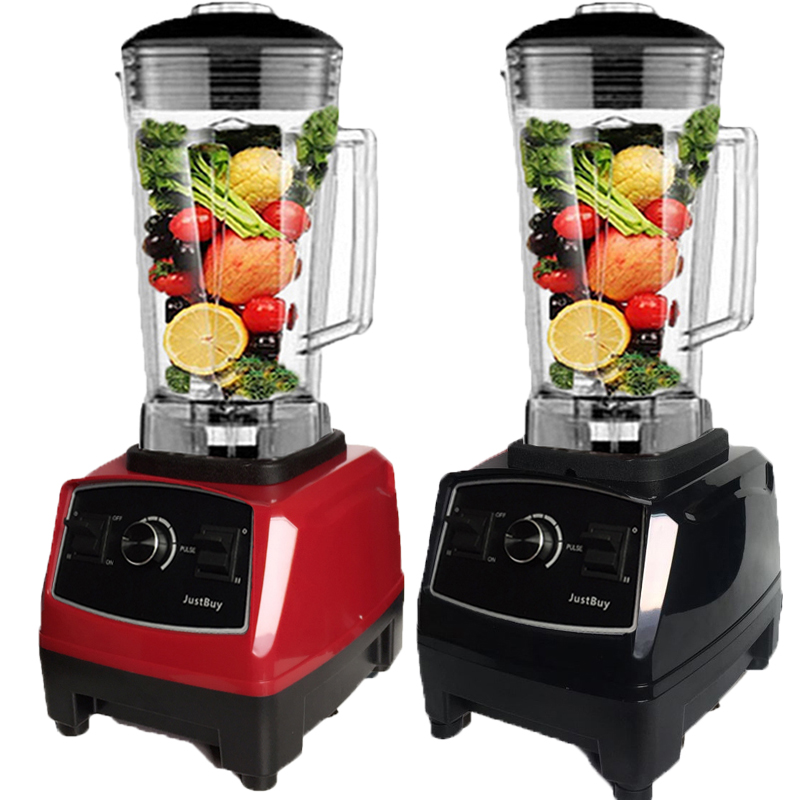 Image 2 - BPA free 2200W Heavy Duty Commercial Blender Professional Blender Mixer Food Processor Japan Blade Juicer Ice Smoothie Machine-in Blenders from Home Appliances