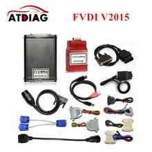 2017 NEWEST FVDI 2015 Version FVDI Full Version (Including 18 Software) ABRITES Commander FVDI No Use Time Limited