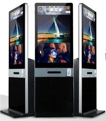 42 zoll Instant Foto kiosk Foto genommen Booth Kiosk Mit DNP DX RX1 Thermische Drucker