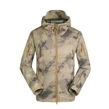 цена на TAD Brand Jacket V4.0 Military Tactical Men Jacket Lurker Shark Skin Soft Shell Waterproof Windproof Men windbreaker Jacket Coat