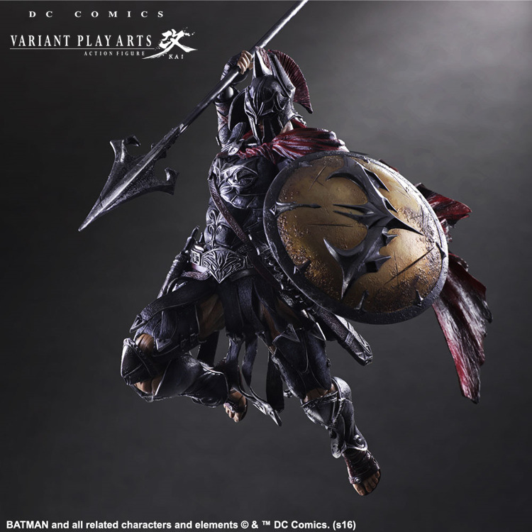 Play Arts Kai Batman 1/6 scale painted figure Variant variable Ver. Timeless Spartan PVC Action Figures Collectible Model Toys-5