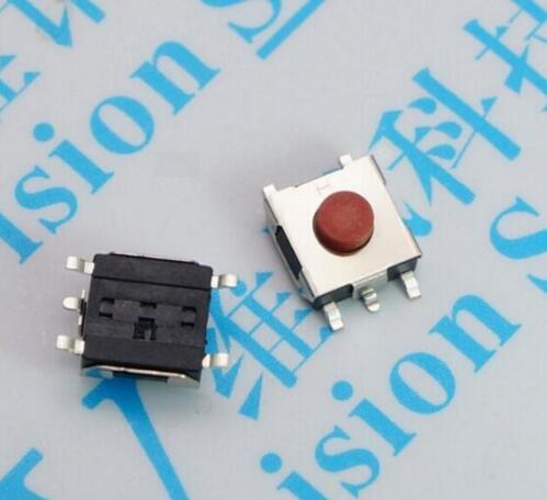 Clever Freies Verschiffen 100 Pcs 6*6*3,1mm 6x6x3,1 H 5 Pins Smd-5 Touch Micro Schalter Momentary/taste Schalter Für Laptop Display Rohs.