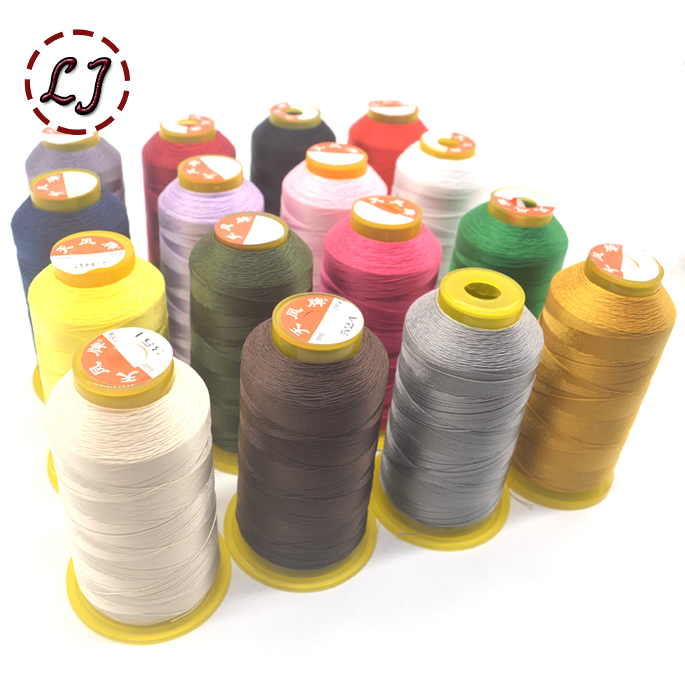 Brand High Quality 800m 300D/3 High Tenacity Thread For Sewing Machine Thin Leather Canvas Curtains Garment Accessories DIY