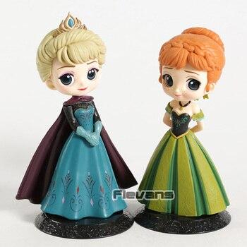6db1767f473 Q поскет Эльза Анна коронация стиль ПВХ Рисунок Коллекционная модель игрушки