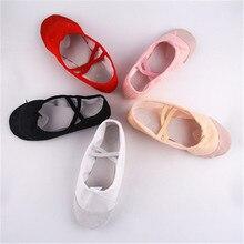 Детская Балетная обувь для девочек, детская парусиновая модная обувь, детская мягкая однотонная обувь