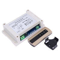 Wide Voltage DC 12V 48V Four Way Multi Function Learning Wireless Remote Control Switch 315MHZ