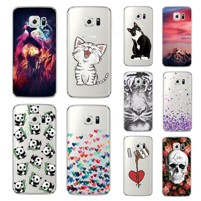 Cellphones & Telecommunications Cool Animal Panda Husky Puppy Cover For Samsung Galaxy S4 S5 Mini S6 S7 Edge S8 S9 Plus Grand Prime Note 4 5 8 Silicone Case
