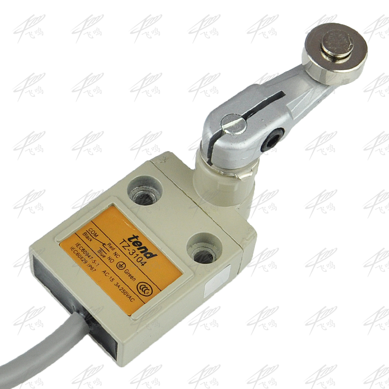 цена на TZ-3104 9.8Ft Momentary Roller Lever Plunger Limit Switch SPDT NO+NC TZ-3104