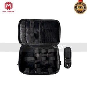 Image 4 - Оригинальная катушка мастер Vape сумка для электронных сигарет комплект коробка мод распылитель для электронной сигареты резервуар DIY инструмент испаритель защитный мешок