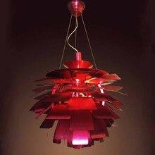 Бесплатная Доставка Горячий Продавать Луи Поульсен PH Артишок Лампы, 120 В/230 В Дания современный подвесной светильник Диаметр 80 см Реплики
