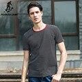 Pioneer Camp лето черный и белый полосатый с короткими рукавами Футболки мужской молодежи хлопок морской полосатой рубашке мужской моды 677019