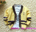 Spring and autumn children's clothing male child cotton thread sweater child cardigan baby sweater baby sweater