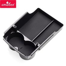 Smabee автомобиль центральный подлокотник коробка для Tesla модель X модель S аксессуары для интерьера Укладка Уборка центральной консоли Организатор