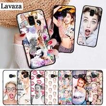 Lavaza Miley Cyrus Soft Rubber Silicone Case for Samsung A3 A5 A6 Plus A7 A8 A9 A10 A30 A40 A50 A70 J6 A10S A30S A50S