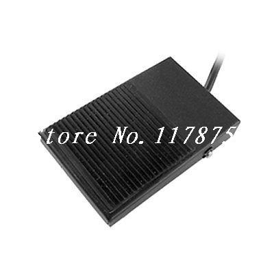 10A SPDT NO/NC Nonslip Rubber Metal Momentary Power Foot Switch Pedal Footswitch