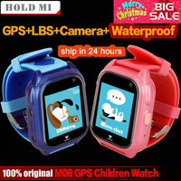 M06 Smart GPS Child Watch Waterproof IP67 Phone Positioning GPS Tracker 1.44 inch Color Touch Screen SOS Q750 Smart Baby Watch